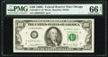 Fr. 2166-G* $100 1969C Federal Reserve Note. PMG Gem Uncirculated 66 EPQ