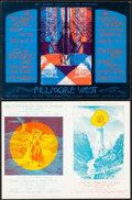 """Movie Posters:Rock and Roll, Ten Years After & Others at Fillmore West Lot (Bill Graham, 1970). Very Fine+. Promotional Postcards (2) (9.3"""" X 7""""). Rock a... (Total: 2 Items)"""