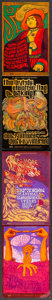"""Movie Posters:Rock and Roll, Fillmore West Concert Lot (Bill Graham, 1967-1968). Very Fine. Concert Promotional Postcards (2) (4.5"""" X 14""""). Tea Latrec & ... (Total: 2 Items)"""