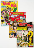 Silver Age (1956-1969):War, Our Army at War #151-200 Group (DC, 1965-68) Condition: Average VG-.... (Total: 50 Comic Books)