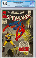 Silver Age (1956-1969):Superhero, The Amazing Spider-Man #46 (Marvel, 1967) CGC VF- 7.5 Off-white to white pages....
