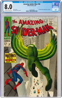 The Amazing Spider-Man #48 (Marvel, 1967) CGC VF 8.0 Off-white to white pages