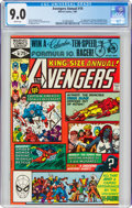The Avengers Annual #10 (Marvel, 1981) CGC VF/NM 9.0 White pages