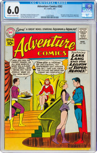 Adventure Comics #282 (DC, 1961) CGC FN 6.0 Off-white to white pages