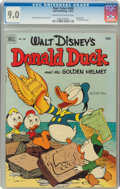 Four Color #408 Donald Duck (Dell, 1952) CGC VF/NM 9.0 Cream to off-white pages