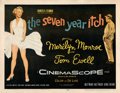 "Movie Posters:Comedy, The Seven Year Itch (20th Century Fox, 1955). Fine+ on Paper. Half Sheet (22"" X 28"").. ..."