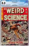 Golden Age (1938-1955):Science Fiction, Weird Science #12 (EC, 1952) CGC VF 8.0 Off-white to white pages....