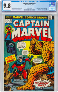 Captain Marvel #26 (Marvel, 1973) CGC NM/MT 9.8 White pages
