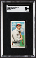 Baseball Cards:Singles (Pre-1930), 1909-11 T206 Sovereign Willie Keeler (With Bat) SGC EX 5....