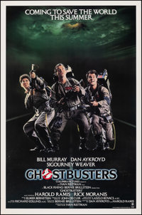 """Ghostbusters (Columbia, 1984). Rolled, Very Fine+. International One Sheet (27"""" X 41"""") Advance. Comedy"""