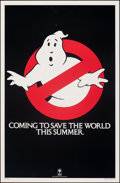 """Movie Posters:Comedy, Ghostbusters (Columbia, 1984). Rolled, Very Fine-. One Sheet (27"""" X 41"""") Teaser. Comedy.. ..."""
