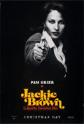 "Movie Posters:Crime, Jackie Brown (Miramax, 1997). Rolled, Very Fine-. One Sheet (27"" X 41"") SS Advance Pam Grier Style. Crime.. ..."
