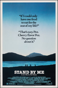 """Stand By Me (Columbia, 1986). Rolled, Very Fine-. One Sheet (27"""" X 41"""") SS. Adventure"""