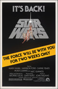 """Movie Posters:Science Fiction, Star Wars (20th Century Fox, R-1981). Rolled, Very Fine-. One Sheet (27"""" X 41"""") Advance, Tom Jung Artwork. Science Fiction...."""