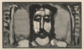 Prints & Multiples, Georges Rouault (French, 1871-1958). Untitled, from Passion, 1939. Woodblock print on paper...