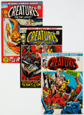 Bronze Age (1970-1979):Horror, Creatures on the Loose #16-19 Group (Marvel, 1971) Condition: Average NM-.... (Total: 4 Comic Books)