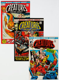 Creatures on the Loose #16-19 Group (Marvel, 1971) Condition: Average NM-.... (Total: 4 Comic Books)
