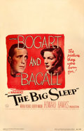Movie Posters:Film Noir, The Big Sleep (Warner Bros., 1946). Fine+. Window ...