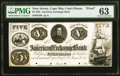 Cape May Court House, NJ- American Exchange Bank $5 Jan. 1, 1852 as G8 Wait UNL PMG Choice Uncirculated 63