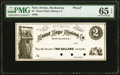 Rockaway, NJ- Mount Hope Mining Co. $2 186_ Wait-UNL Proof / Printer's Specimen PMG Gem Uncirculated 65 EPQ