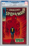 Silver Age (1956-1969):Superhero, The Amazing Spider-Man #50 (Marvel, 1967) CGC VF 8.0 Off-white pages....