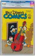 Walt Disney's Comics and Stories #84 (Dell, 1947) CGC VF/NM 9.0 Off-white to white pages