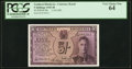 Southern Rhodesia Southern Rhodesia Currency Board 5 Shillings 1.10.1945 Pick 8b PCGS Very Choice New 64.<