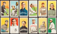 1909-11 T206 White Borders Card Collection (12) with HoFer