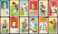 Baseball Cards:Lots, 1909-11 T206 White Borders Card Collection (12) with SLs, HoFer. ...