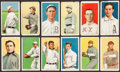 Baseball Cards:Lots, 1909-11 T206 White Borders Card Collection (12) with SLs, HoFer & Hindu Back. ...