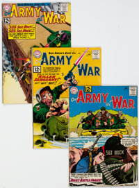 Our Army at War Group of 11 (DC, 1961-65) Condition: Average VG.... (Total: 11 Comic Books)