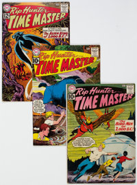 Rip Hunter... Time Master Group of 10 (DC, 1961-65) Condition: Average VG.... (Total: 10 Comic Books)