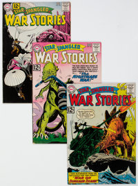Star Spangled War Stories Group of 15 (DC, 1958-70).... (Total: 15 Comic Books)