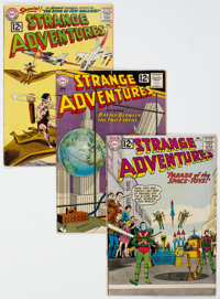 Strange Adventures Group of 28 (DC, 1961-70) Condition: Average VG.... (Total: 28)