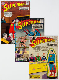 Superman Group of 23 (DC, 1961-66) Condition: Average VG.... (Total: 23 Comic Books)