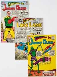 Superman's Girlfriend Lois Lane and Superman's Pal Jimmy Olsen Group of 18 (DC, 1961-70).... (Total: 18)