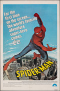 """Movie Posters:Action, Spider-Man (Columbia, 1977). Folded, Fine/Very Fine. One Sheet (27"""" X 41""""). Action.. ..."""