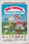 "Movie Posters:Animation, Bon Voyage, Charlie Brown (Paramount, 1980). Folded, Very Fine. One Sheet (27"" X 41""). Charles Shultz Artwork. Animation.. ..."