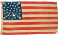 United Stated 38-Star Flag - Triple Ring with four corner stars flag