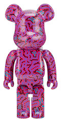 Collectible, BE@RBRICK X Keith Haring Estate. Keith Haring #2 1000%, 2018. Painted cast resin. 28 x 14 x 9 inches (71.1 x 35.6 x 22.9...