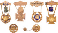 Women's Relief Corps and Ladies of the G.A.R. Presentation Badges