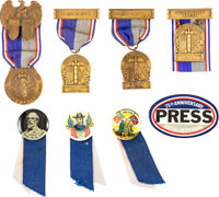 Battle of Gettysburg and Other Commemorative Badges
