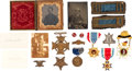 Miscellaneous:Ephemera, Group of Items I.D.'d to Captain Charles J. Fox of the 4th Regiment Michigan Infantry.. ...