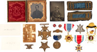 Group of Items I.D.'d to Captain Charles J. Fox of the 4th Regiment Michigan Infantry