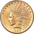 Indian Eagles, 1933 $10 MS65 PCGS....