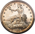 Proof Trade Dollars, 1883 T$1 PR64 Cameo PCGS....