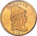 Early Quarter Eagles, 1796 $2 1/2 No Stars on Obverse, BD-1, High R.7, XF45 PCGS. CAC....