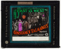 """Movie Posters:Comedy, East Is West & Other Lot (First National, 1922). Fine+. Glass Slides (2) (3.25"""" X 4""""). Comedy.. ... (Total: 2 Items)"""