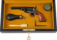Cased Colt Black Powder Series 1848 Baby Dragoon .31 Caliber Percussion Revolver
