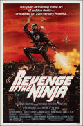 """Movie Posters:Action, Revenge of the Ninja & Other Lot (Cannon, 1983). Folded, Very Fine. One Sheets (4) (27"""" X 41""""). Action.. ... (Total: 4 Items)"""